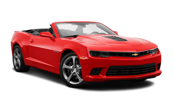Unique Chevrolet Camaro Cabrio for hire in Kotor and Montenegro
