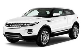 My favourite car for hire in Boka Bay - Land Rover Range Rover Evoque